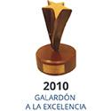 2010 Galardón a la Excelencia