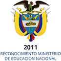 2011 Reconocimiento Ministerio de Educación Nacional
