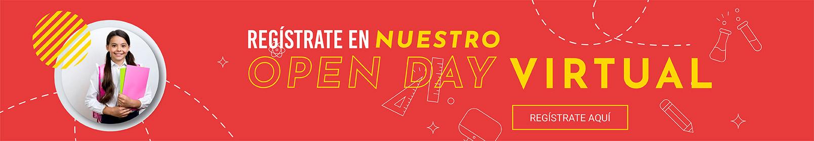 Regístrate en Nuestro Open Day Virtual