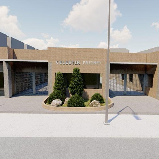 Sede Soacha Colegio Celestin Freinet
