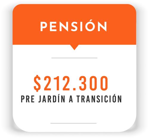 Tarifa Pensión Sede Preescolar