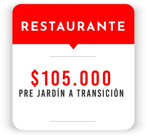 Tarifa Restaurante Sede Preescolar