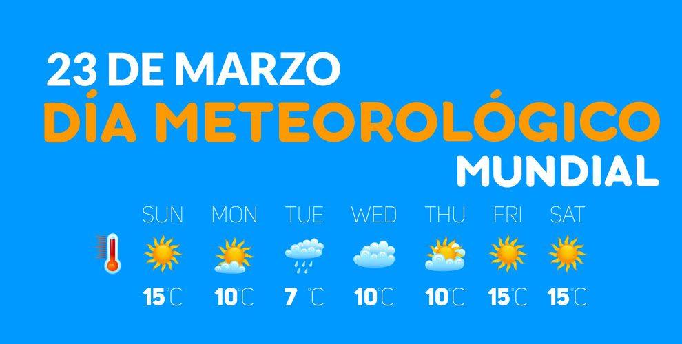 Día Meteorológico Mundial | 23 de Marzo